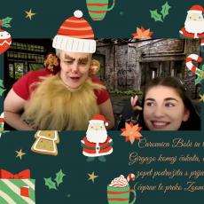 Božično obdarovanje otrok s čarovnico Bobi🎅